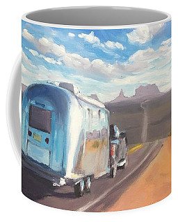 Heading South Towards Monument Valley Coffee Mug