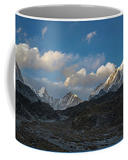 Coffee Mug featuring the photograph Heading To Everest Base Camp by Mike Reid