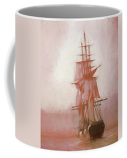Coffee Mug featuring the photograph Heading To Salem From The Sea by Jeff Folger