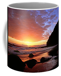 Headlands At Sunset Coffee Mug