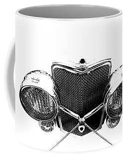 Coffee Mug featuring the photograph Headlights by Stephen Mitchell