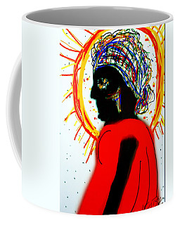 Headscarf Coffee Mug by Kathy Barney