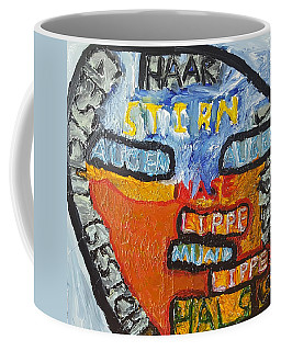 Headshot In Pose Coffee Mug