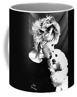 Coffee Mug featuring the digital art Healing by Kathy Tarochione