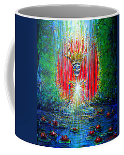 Coffee Mug featuring the painting Healing Waters by Heather Calderon