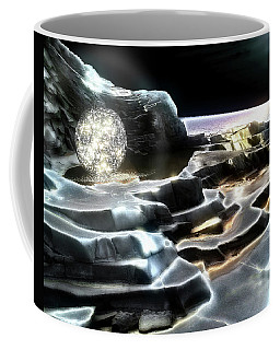 Coffee Mug featuring the digital art Healing Waters by Pennie  McCracken