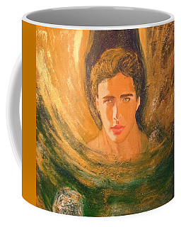 Healing With The Golden Light Coffee Mug