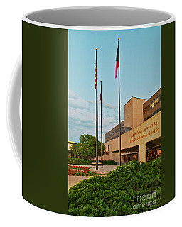 Coffee Mug featuring the photograph Health Sciences Medical Center by Mae Wertz