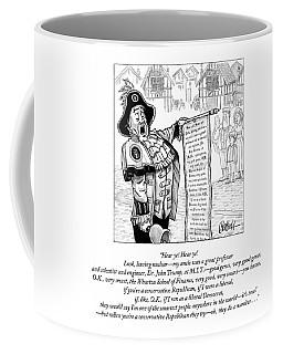 Hear Ye Hear Ye Coffee Mug