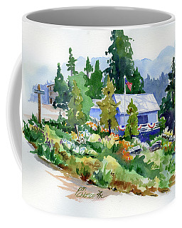 Hearse House Garden Coffee Mug
