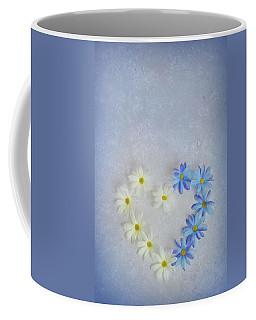 Heart And Flowers Coffee Mug