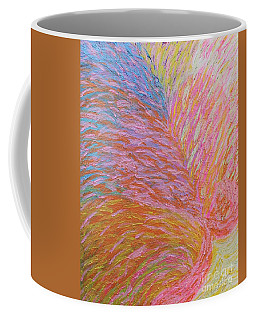 Heart Burst Coffee Mug by Rachel Hannah