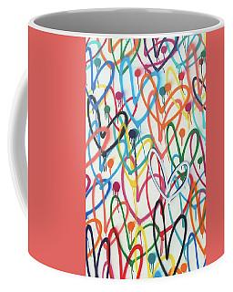 Heart Chaos Coffee Mug
