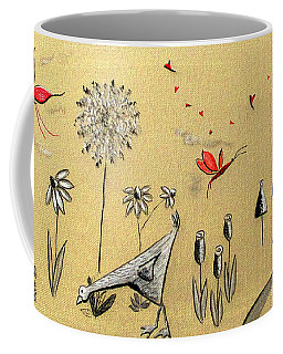 Heart Cottage Red 2 Coffee Mug