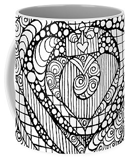 Heart Crown Tangle Coffee Mug