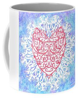 Heart In A Snowflake II Coffee Mug