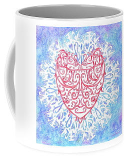 Heart In A Snowflake II Coffee Mug