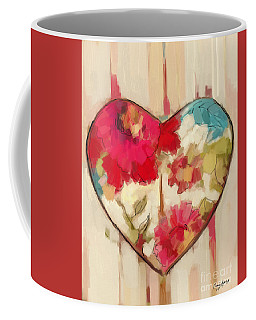 Heart In Stitches Coffee Mug