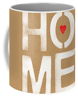 Heart In The Home- Art By Linda Woods Coffee Mug