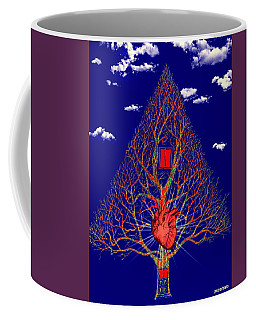 Heart Is The Abode Of The Spirit Coffee Mug