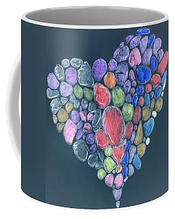 Heart Mosaic Coffee Mug
