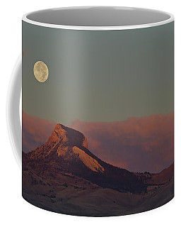 Heart Mountain And Full Moon-signed-#0273  #0273 Coffee Mug