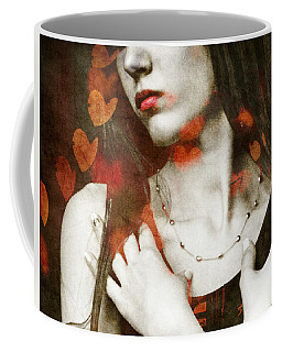 Heart Of Gold Coffee Mug by Paul Lovering