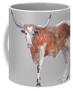 Heart Of Texas Longhorn Coffee Mug