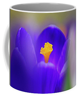 Heart Of The Crocus Coffee Mug