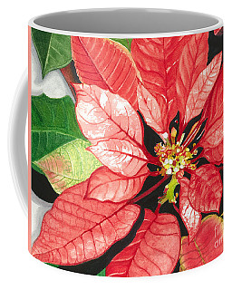Poinsettia, Star Of Bethlehem No. 2 Coffee Mug