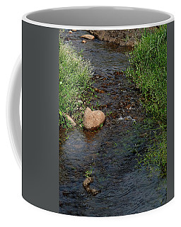 Heart Of The Stream Coffee Mug