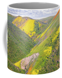 Coffee Mug featuring the photograph Heart Of The Temblor Range by Marc Crumpler