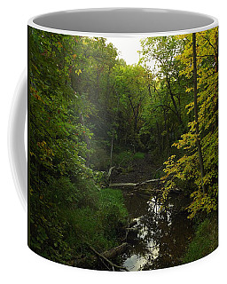 Coffee Mug featuring the photograph Heart Of The Woods by Viviana  Nadowski