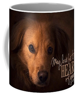 Coffee Mug featuring the digital art Heart Of Your Home  by Kathy Tarochione