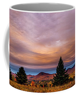 Heart Opeing In The Sky Coffee Mug