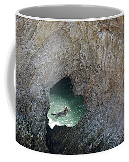 Heart Rock Otter Coffee Mug