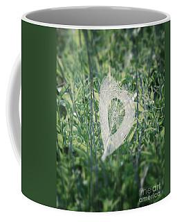 Hearts In Nature - Heart Shaped Web Coffee Mug