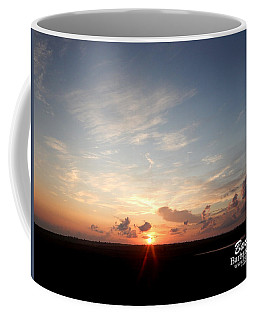 Hearts In The Distance Coffee Mug by Barbara Tristan