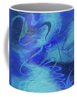 Heartsong Blue 1 Coffee Mug
