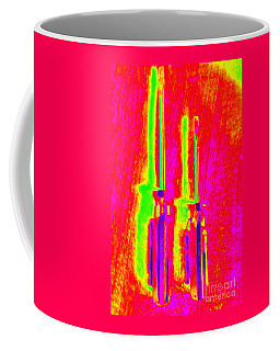 Heat Map Screw Drivers Like Father Like Son Coffee Mug