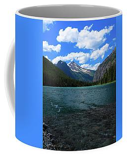 Heavan's Peak From Avalanche Lake Coffee Mug