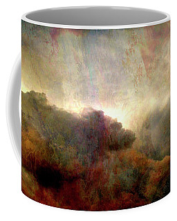 Heaven And Earth - Abstract Art Coffee Mug