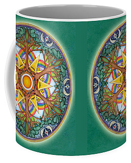 Heaven And Earth Mandala Coffee Mug