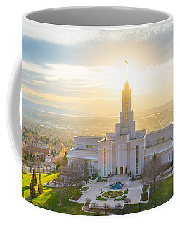 Coffee Mug featuring the photograph Heavenly Glow by Dustin  LeFevre