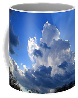 Coffee Mug featuring the photograph Heavenly Sunlight by Kathryn Meyer