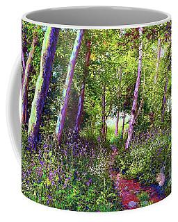 Heavenly Walk Among Birch And Aspen Coffee Mug