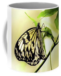 Coffee Mug featuring the photograph Heaven's Door Hath Opened by Karen Wiles