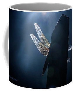 Heaven's Light On A Dragonfly Coffee Mug