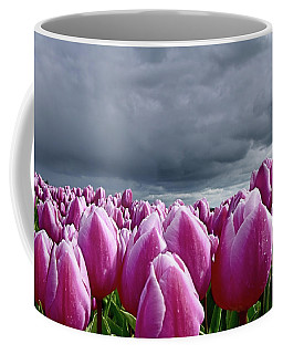 Heavy Clouds Coffee Mug by Mihaela Pater