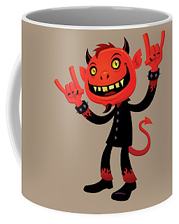 Heavy Metal Devil Coffee Mug